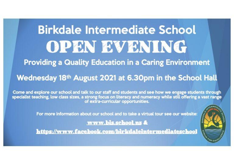 2022 Enrolment, Birkdale Intermediate School