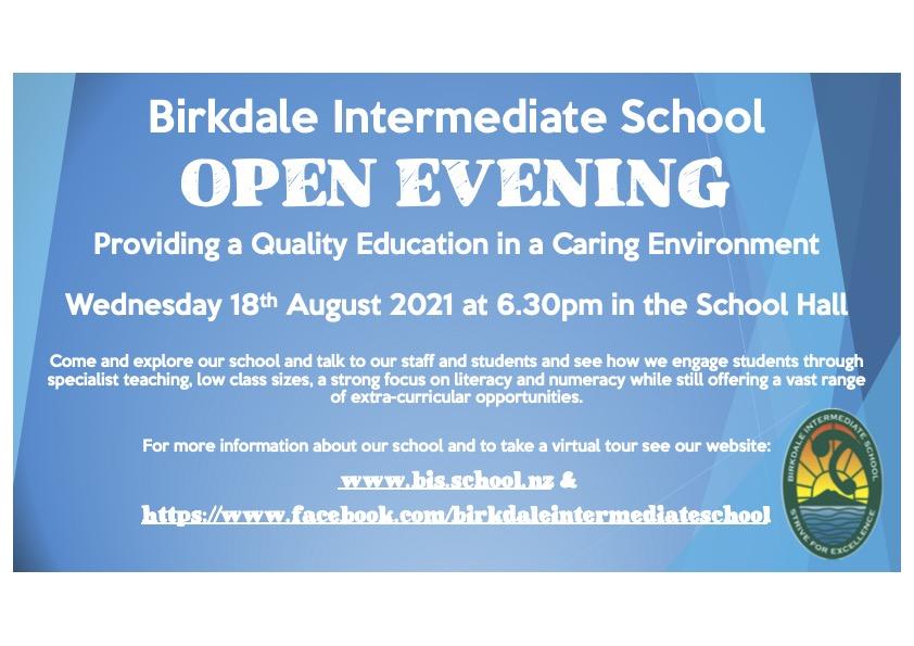 Home, Birkdale Intermediate School